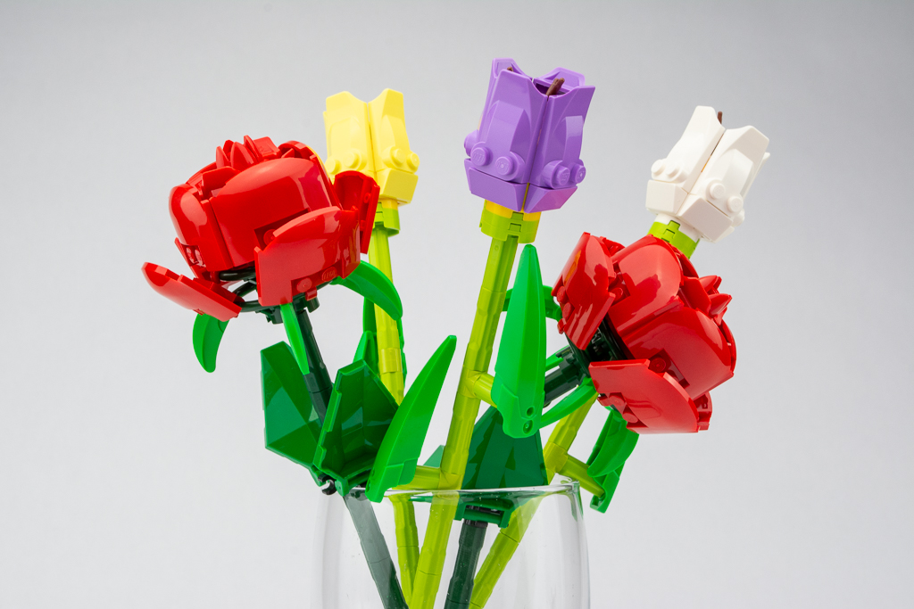 LEGO 40461 Tulips review