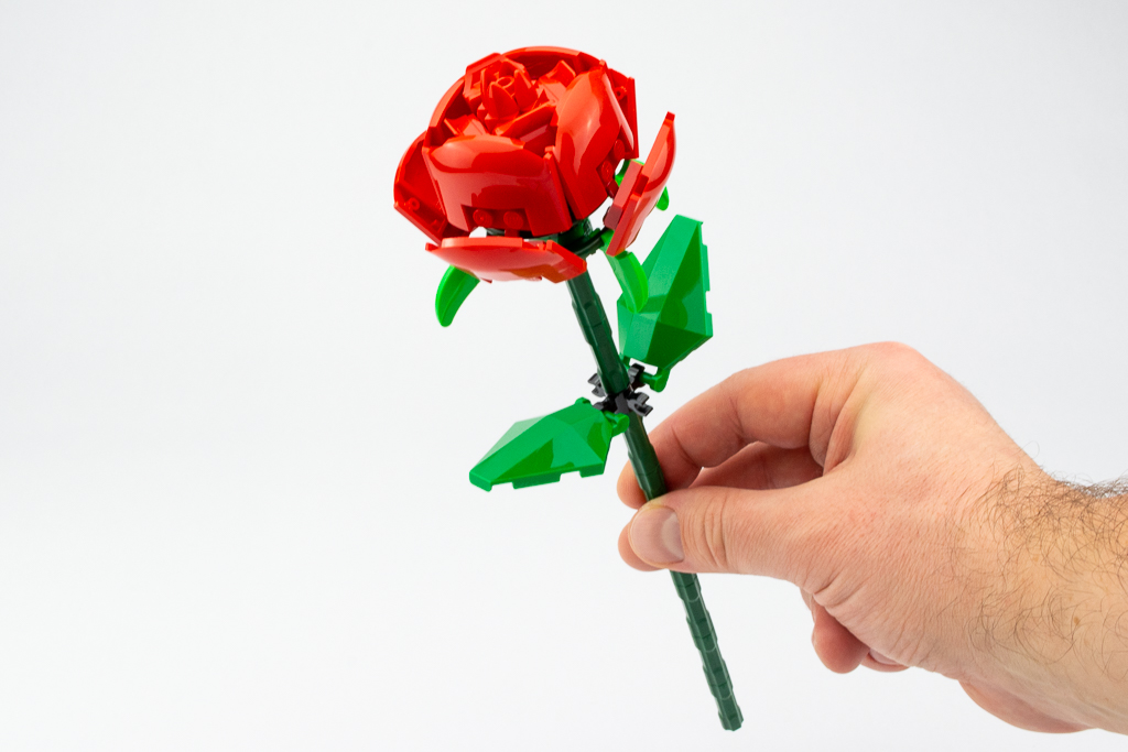 LEGO Review Roses 13