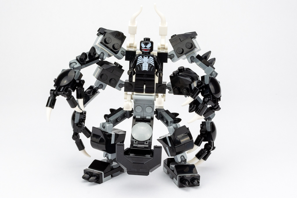 LEGO Review Spiderjet VS Venom Mech 01