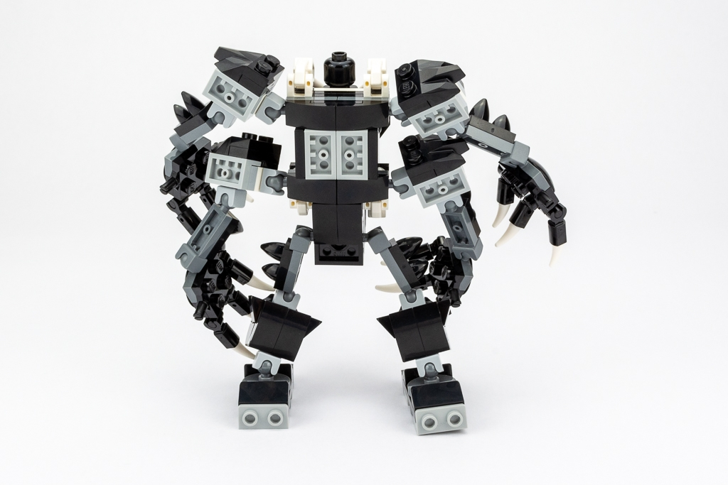 LEGO Review Spiderjet VS Venom Mech 03