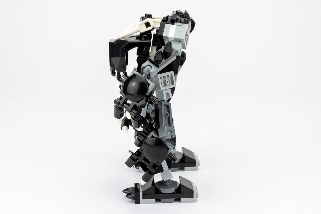 LEGO Review Spiderjet VS Venom Mech 04