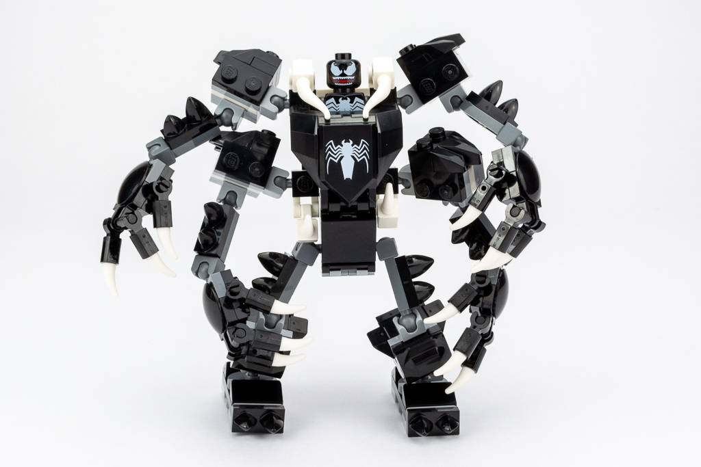 LEGO Review Spiderjet VS Venom Mech 05