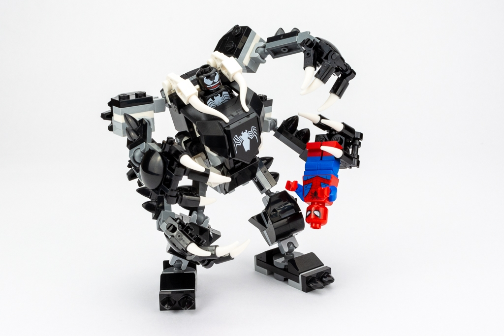 LEGO Review Spiderjet VS Venom Mech 06