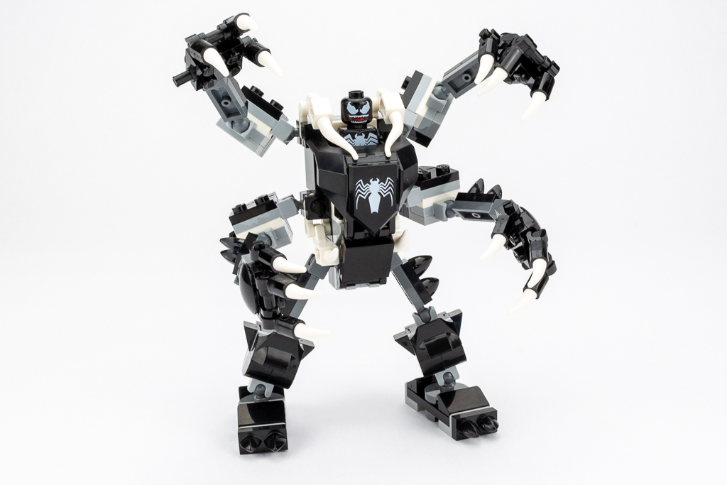 LEGO Review Spiderjet VS Venom Mech 07