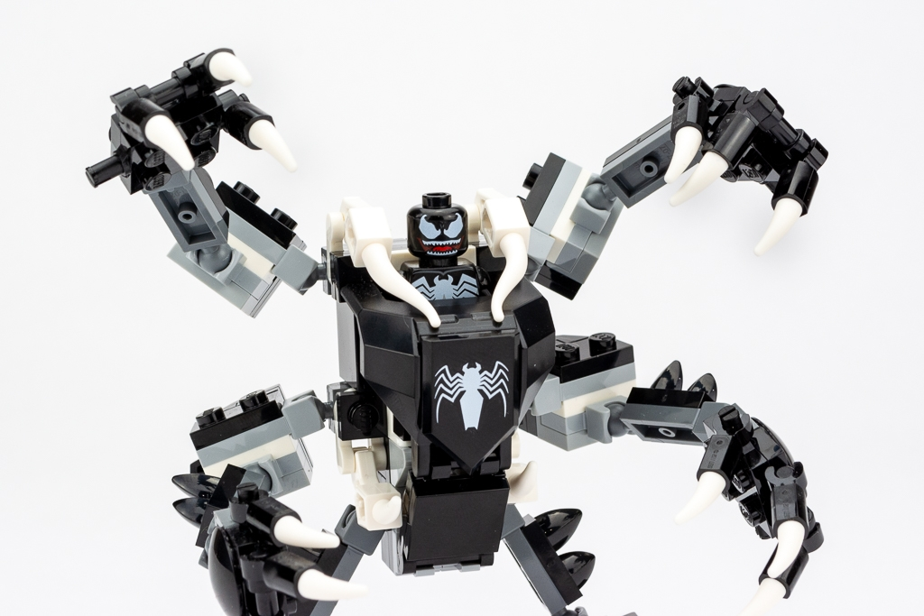 LEGO Review Spiderjet VS Venom Mech 08