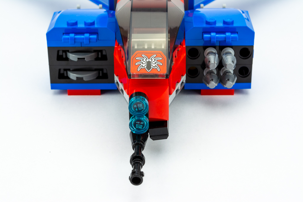 LEGO Review Spiderjet VS Venom Mech 13