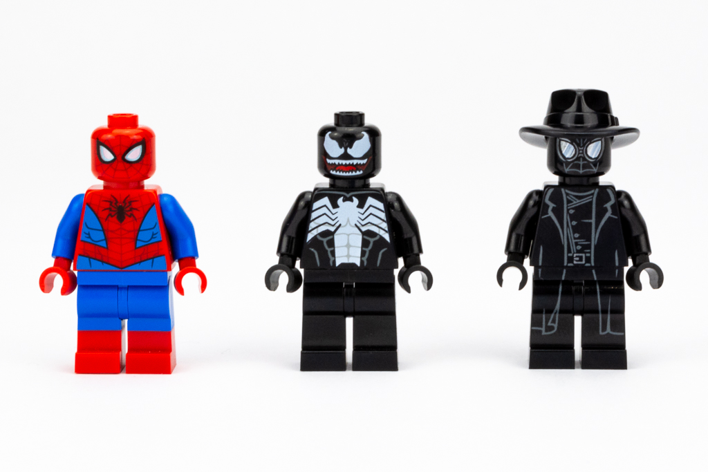 LEGO Review Spiderjet VS Venom Mech 20