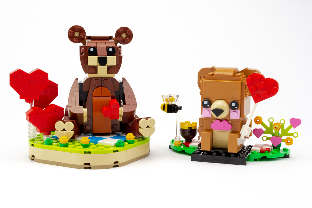 LEGO Review Valentines Brown Bear 18