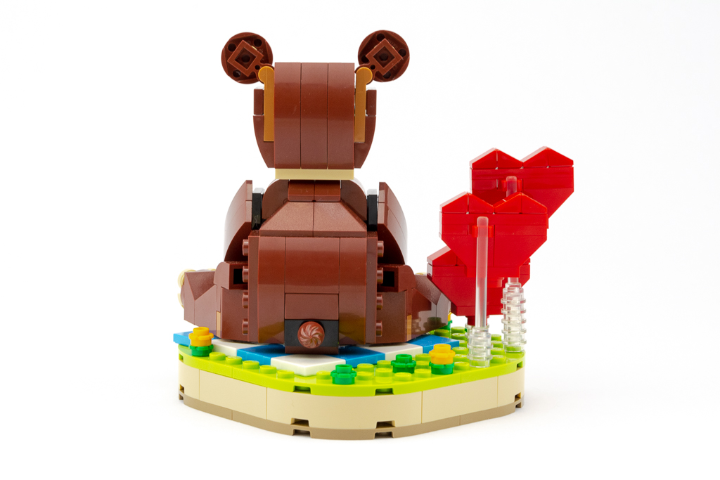 LEGO Review Valentines Brown Bear 21