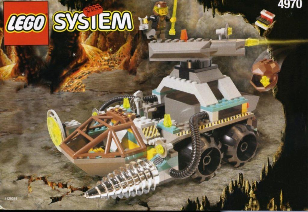 LEGO Rock Raiders 4970 The Chrome Crusher
