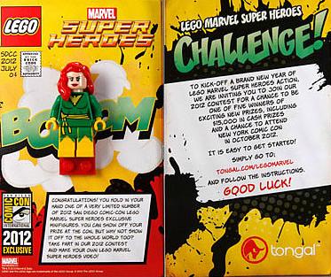 LEGO SDCC 2012 Phoenix Minfiigure