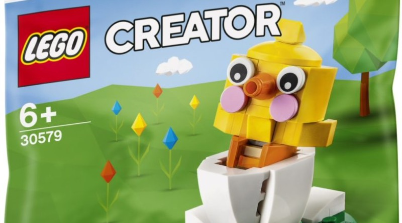 LEGO Seasonal 30579 Hatching Chick Featured