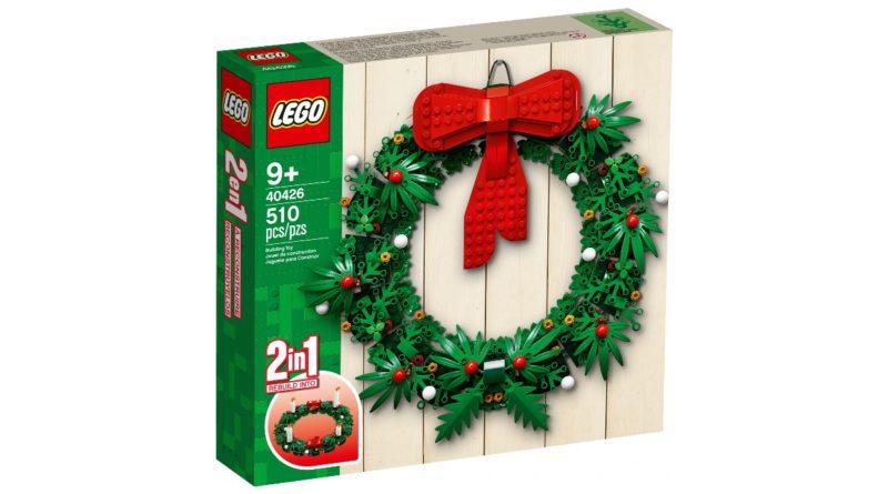 LEGO Seasonal 40426 Christmas Wreath 2 in 1 featured