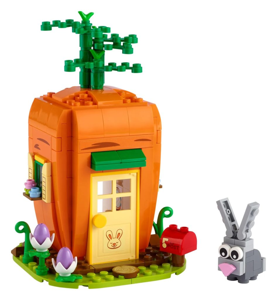 LEGO Seasonal 40449 Easter Bunnys Carrot House 1
