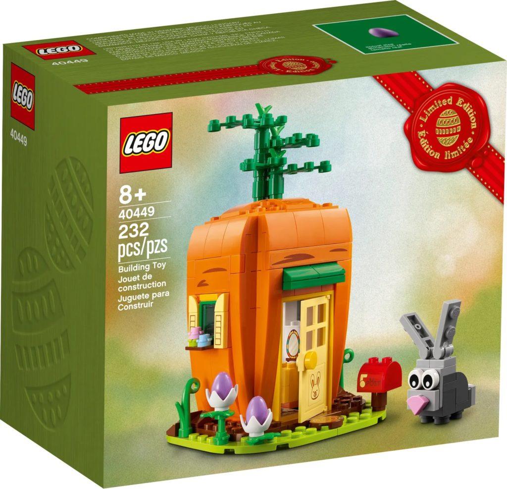 LEGO Seasonal 40449 Easter Bunnys Carrot House 2