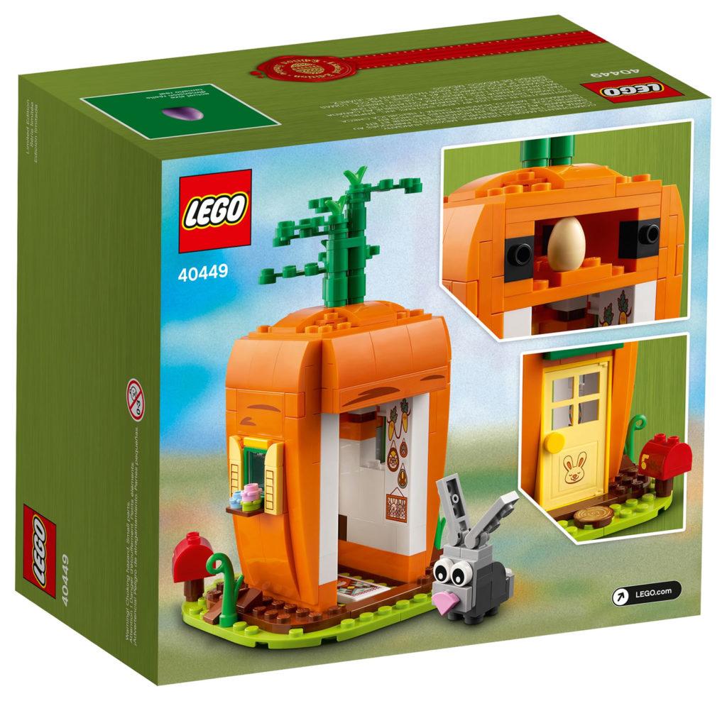 LEGO Seasonal 40449 Easter Bunnys Carrot House 3