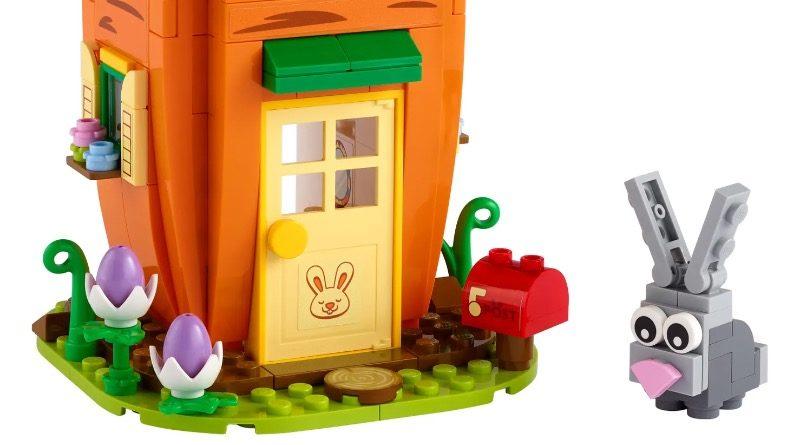 LEGO Seasonal 40449 Easter Bunnys Carrot House Featured 800x445