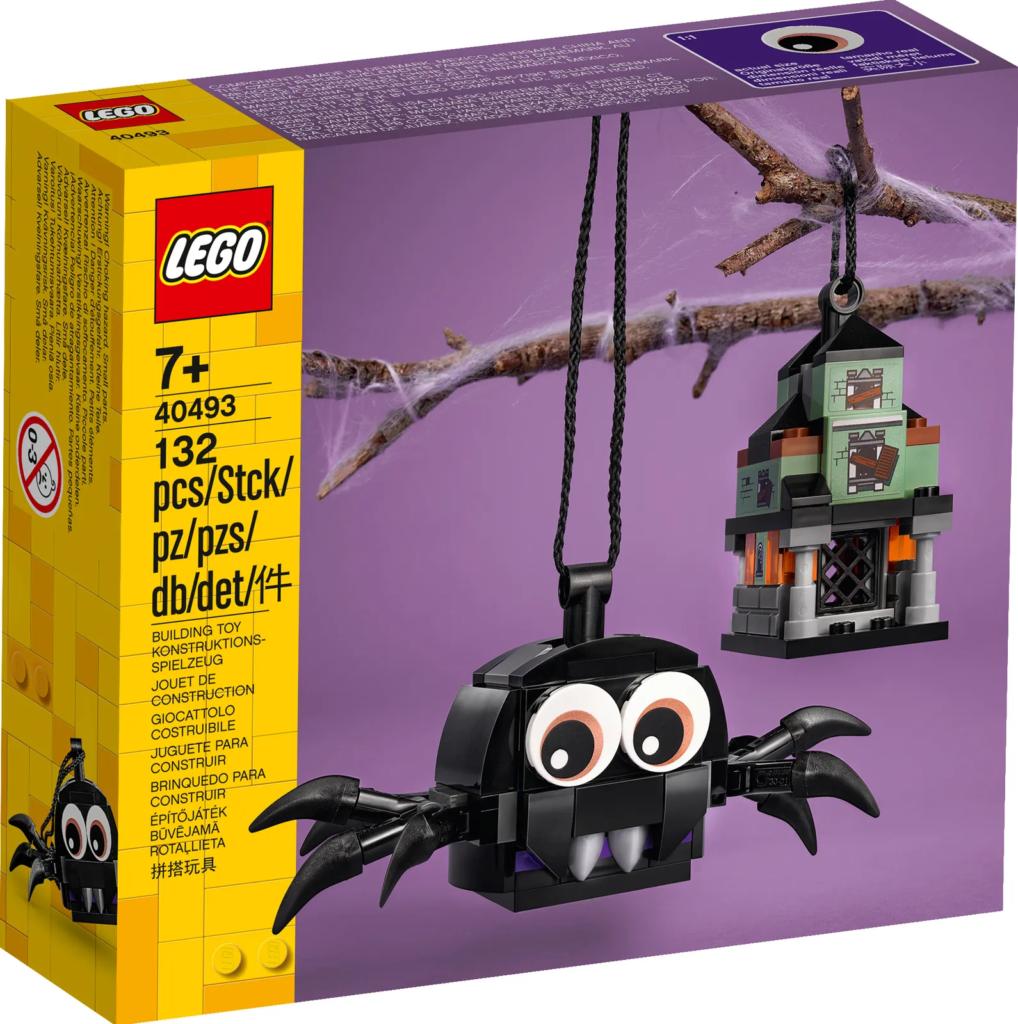 LEGO Seasonal 40493 Spider Haunted House Pack 1