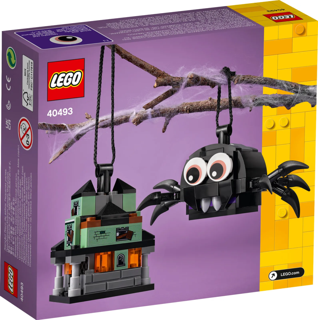 LEGO Seasonal 40493 Spider Haunted House Pack 2