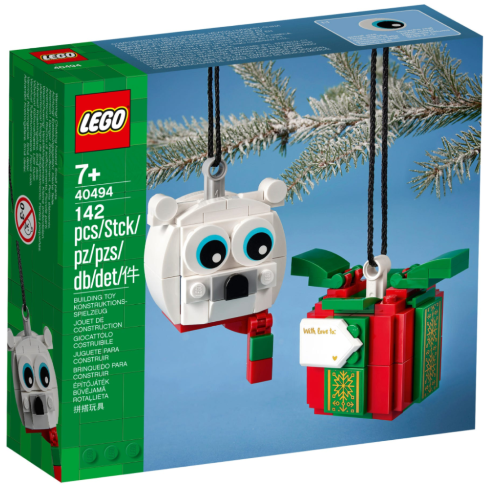 LEGO Seasonal 40494 Polar Bear Gift Pack box