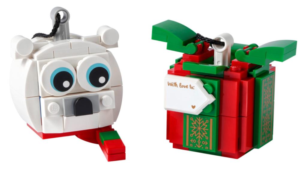 LEGO Seasonal 40494 Polar Bear Gift Pack contents