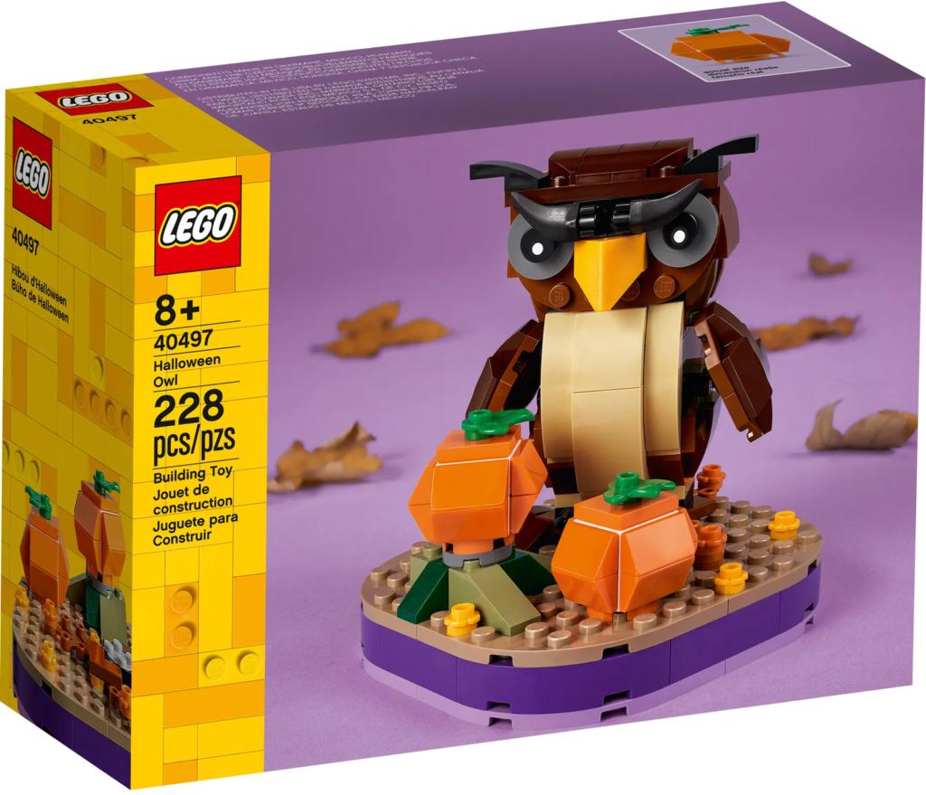 LEGO Seasonal 40497 Halloween Owl 1