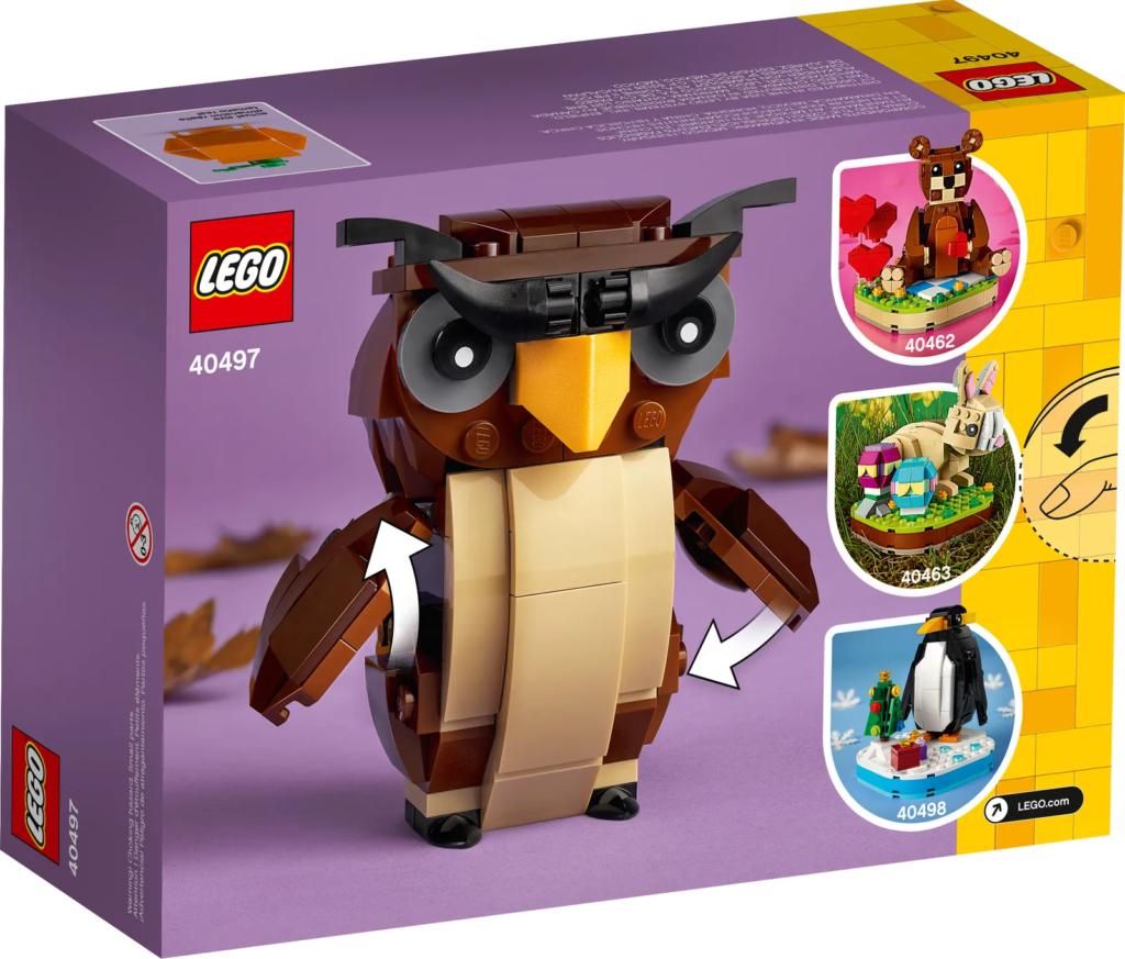 LEGO Seasonal 40497 Halloween Owl 2