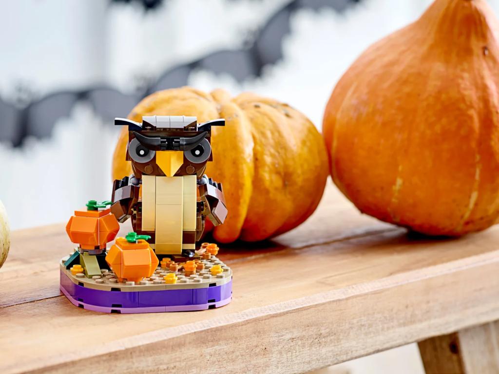 LEGO Seasonal 40497 Halloween Owl 3