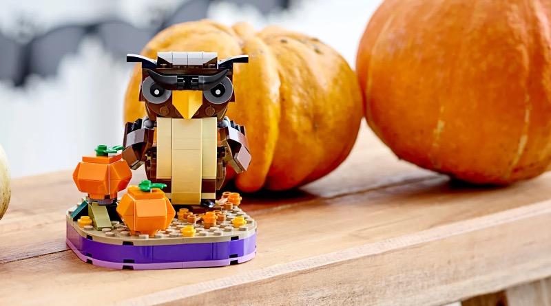 LEGO Seasonal 40497 Halloween Owl featured