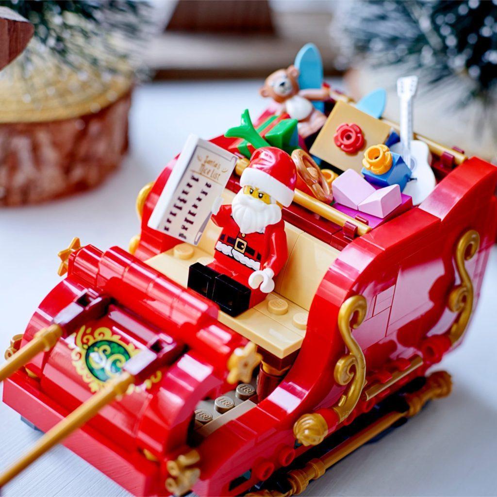 LEGO Seasonal 40499 Santas Sleigh 6