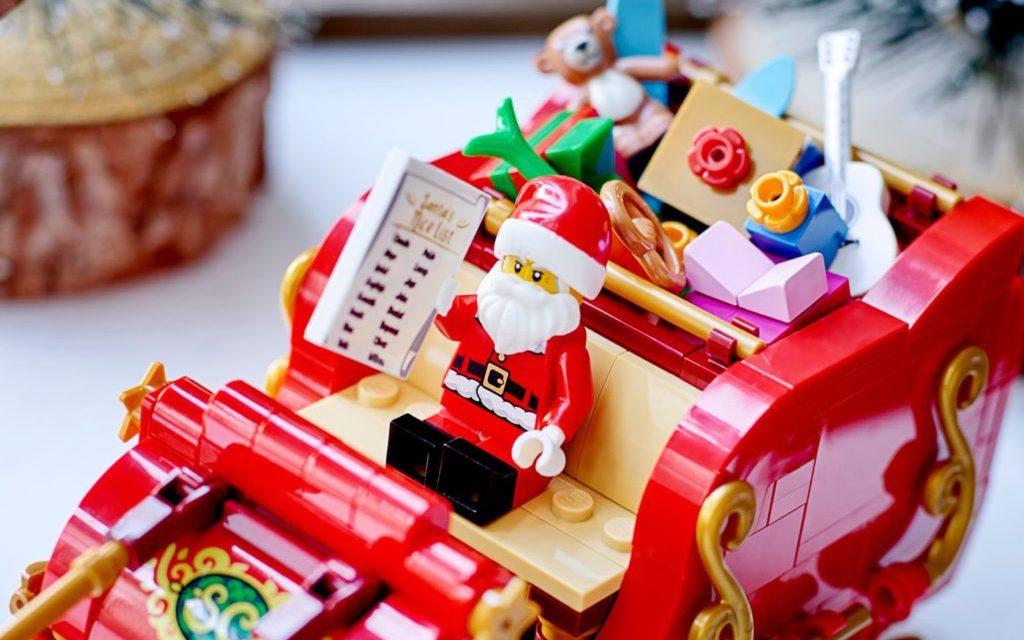 LEGO სეზონური 40499 Santas Sleigh 6 რედაქტირებულია