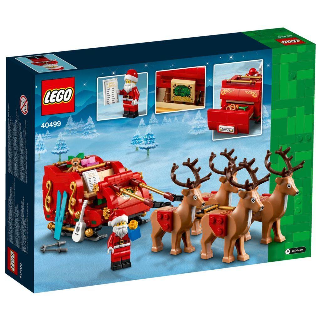 LEGO Seasonal 40499 Santas Sleigh 7
