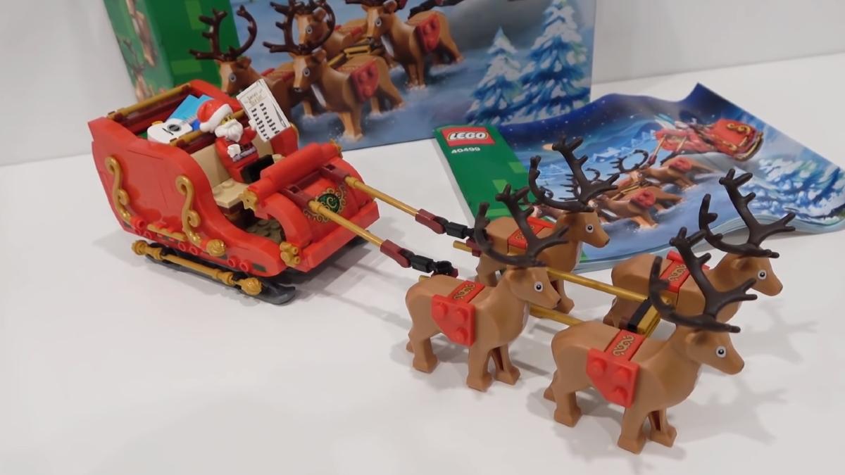 LEGO Seasonal 40499 Santas Sleigh First Look Featured