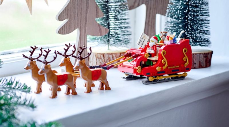 LEGO Seasonal 40499 Santas Sleigh featured 2