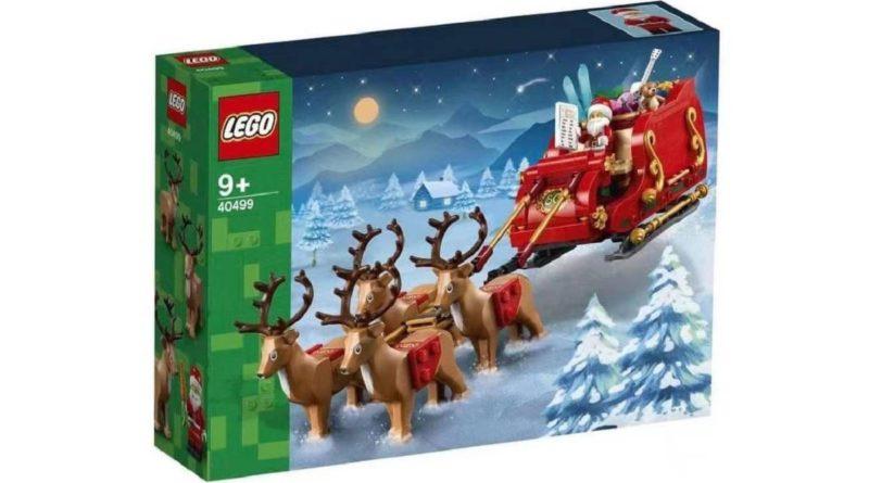 LEGO Seasonal 40499 Santas Sleigh featured