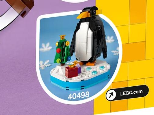 LEGO Seasonal Christmas Penguin