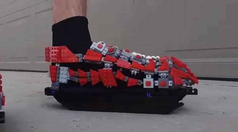 LEGO ဖိနပ်အုတ်သိပ္ပံပညာသည်ထူးခြားသည်