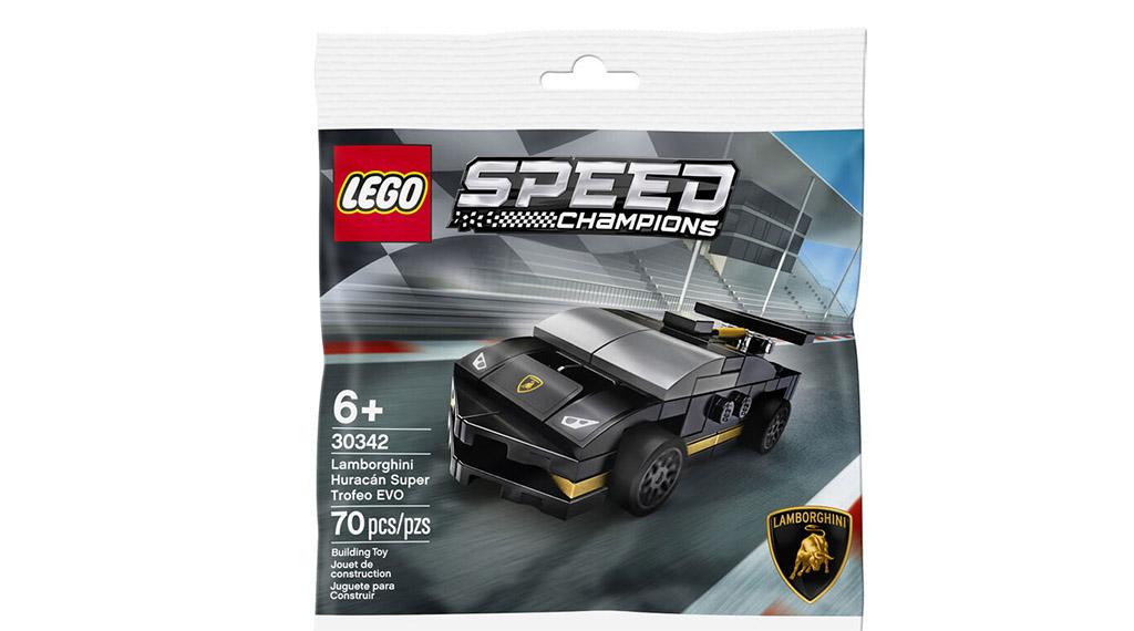 LEGO Speed Champions 30342 Lamborghini Huracan