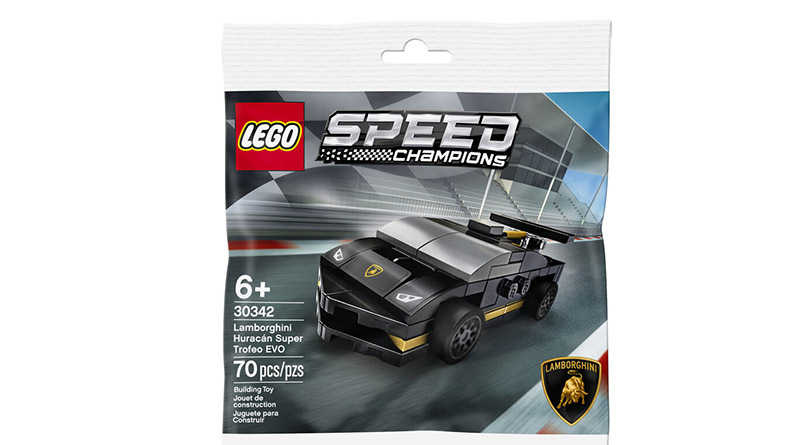 LEGO Speed Champions 30342 Lamborghini Huracan Featured 800 445
