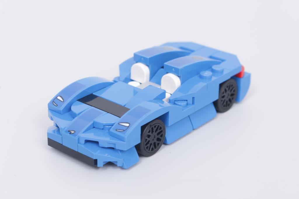 LEGO Speed Champions 30343 McLaren Elva GWP review 1