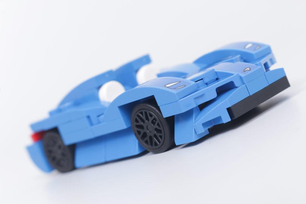 LEGO Speed Champions 30343 McLaren Elva GWP review 2