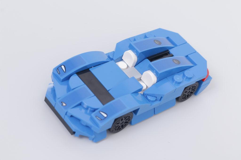 LEGO Speed Champions 30343 McLaren Elva GWP review 3