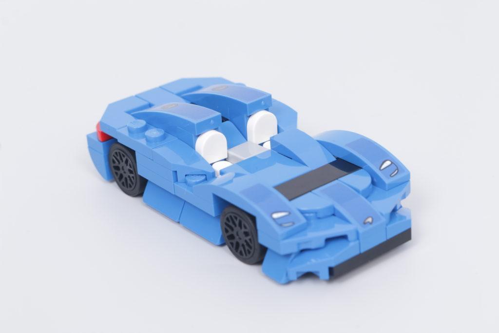 LEGO Speed Champions 30343 McLaren Elva GWP review 5