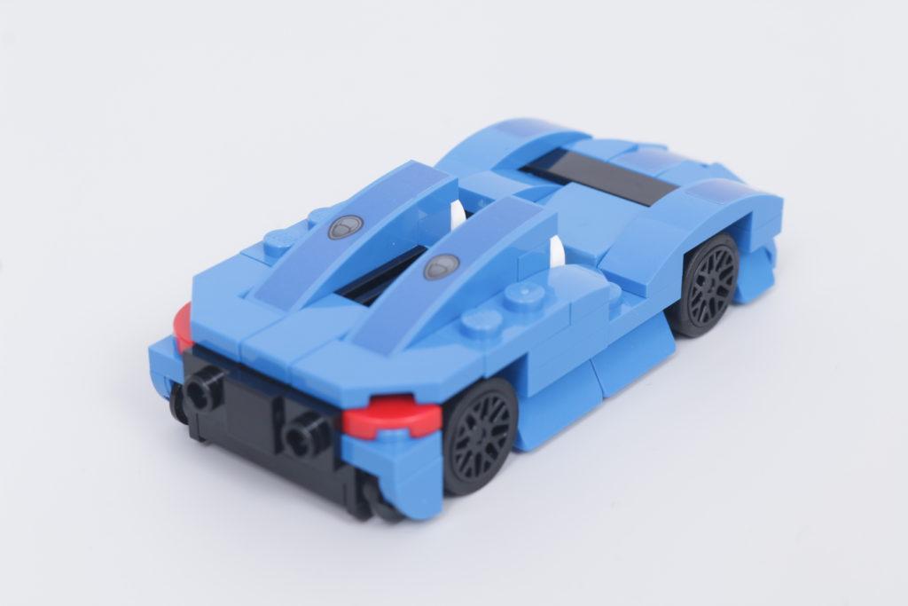 LEGO Speed Champions 30343 McLaren Elva GWP review 6