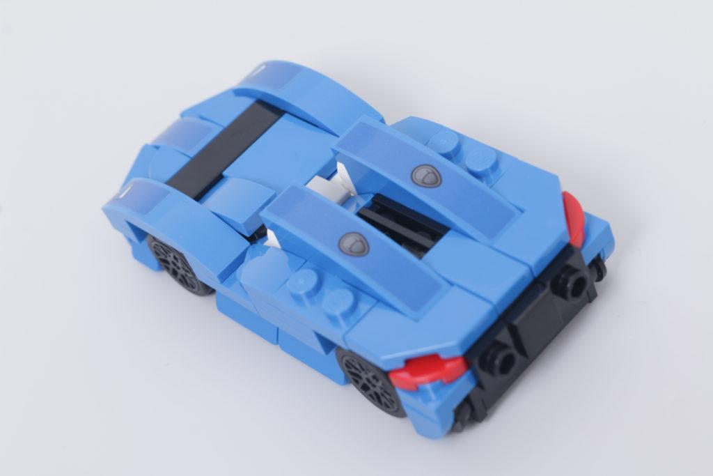 LEGO Speed Champions 30343 McLaren Elva GWP review 7