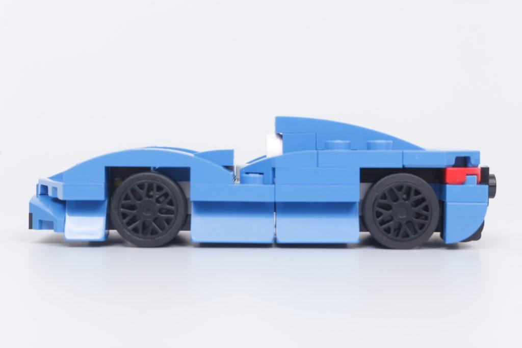 LEGO Speed Champions 30343 McLaren Elva GWP review 8