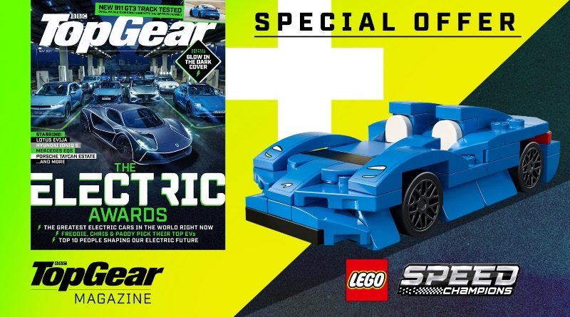 LEGO Speed Champions 30343 McLaren Elva Top Gear magazine featured
