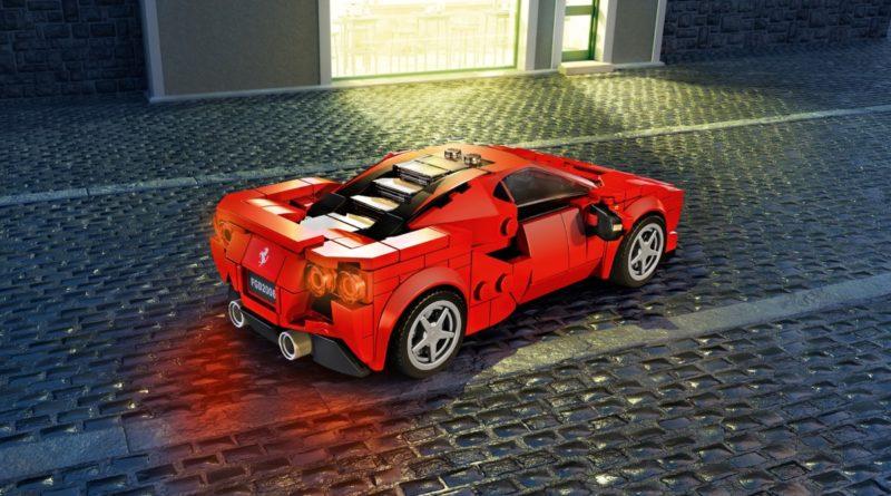 LEGO Speed Champions 76895 Ferrari F8 Tributo featured