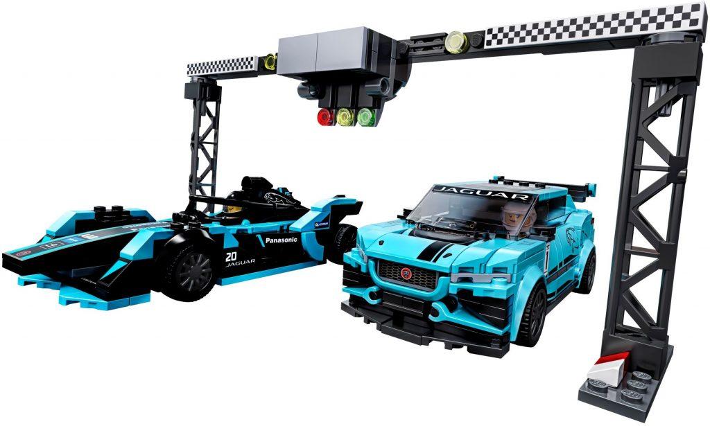 LEGO Speed Champions 76898 Formula E Panasonic Jaguar Racing GEN2 Car Jaguar I PACE ETROPHY