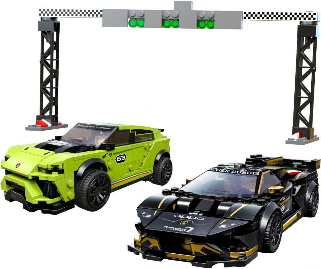 LEGO Speed Champions 76899 Lamborghini Urus ST X Huracán Super Trofeo EVO